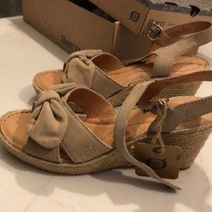 Born wedge sandal